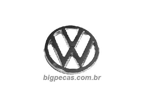 EMBLEMA VOLKSWAGEN DA GRADE VW PEQUENOS (TODOS ATÉ 1999)