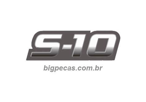 EMBLEMA S10 2009 ESCOVADO