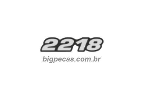 EMBLEMA RESINADO MB 2218