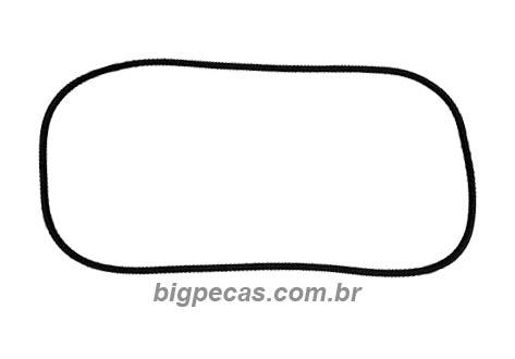 BORRACHA PARABRISA MB 1111/1113 CABINE BAIXA