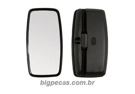 ESPELHO RETROVISOR SIMPLES RETO VW/ MB 709/912