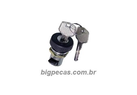 FECHADURA PORTA-LUVAS COM CHAVE SCANIA/MB (1981 EM DIANTE)