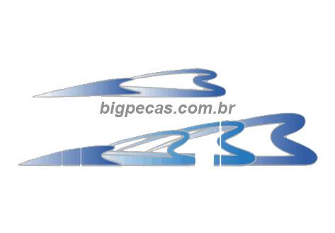 FAIXA 3 CORAÇÕES VARIAS CORES MB 1938 1998