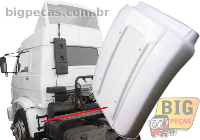PARALAMA TRASEIRO DA CABINE DIR/ESQ VW 35300/40300 (1994 ATÉ 1999)