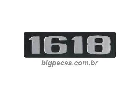 EMBLEMA PLAQUETA MB 1618