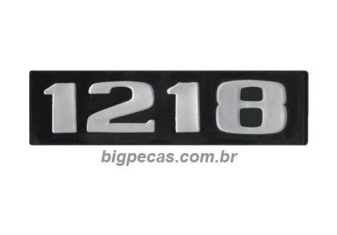 EMBLEMA PLAQUETA MB 1218