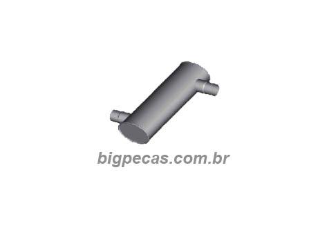 ESCAPE SILENCIOSO MB 1218/1418/1620 (1996 EM DIANTE)