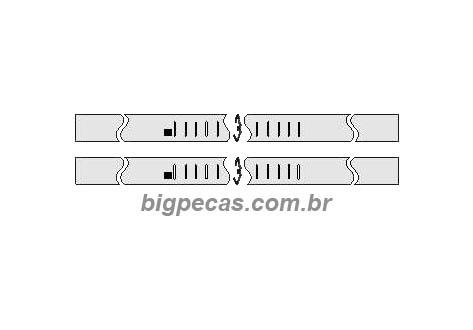 CANALETA (JOGO) MB 709/912/1618/1941