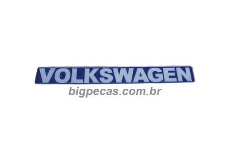 EMBLEMA VOLKSVAGEM RESINADO VW
