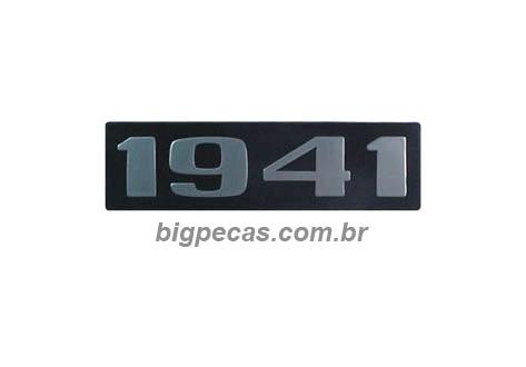 EMBLEMA PLAQUETA MB 1941