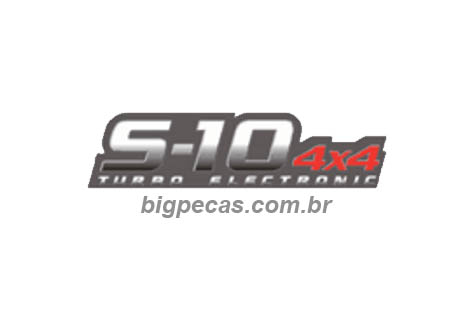 EMBLEMA 4X4 TURBO ELETRONIC S10
