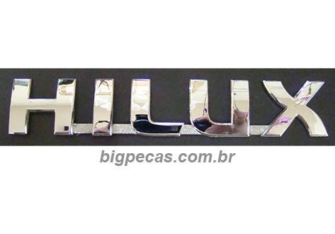 EMBLEMA LATERAL HILUX (2005 EM DIANTE)