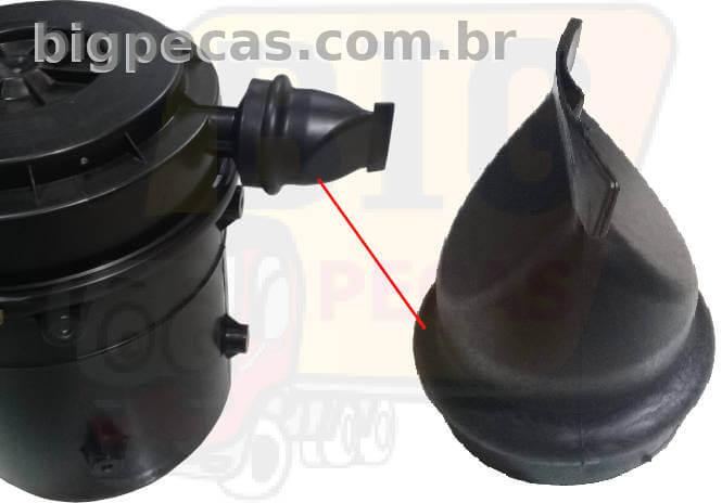 COIFA BICO DE PATO DO FILTRO DE AR CARGO/VW/MB