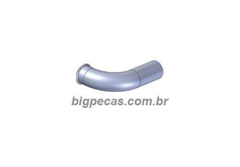 TUBO DE ESCAPE 3.1/2 POL. SAIDA MOTOR INTERM. VW CONSTELLATION 17250/24250 EURO 3 (2005 ATÉ 2009)