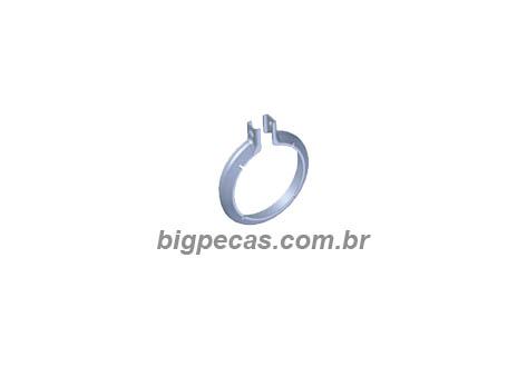 ABRACADEIRA INOX 3.1/2 POL. MB AXOR/ ATEGO/ ACCELO