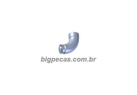 TUBO DE ESCAPE 4 POL. SAIDA CATALISADOR VW CONSTELLATION 19370/25370 EURO 3