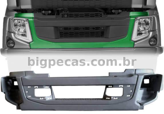 PARACHOQUE DIANTEIRO EM FIBRA RTM VOLVO VM 270 2014