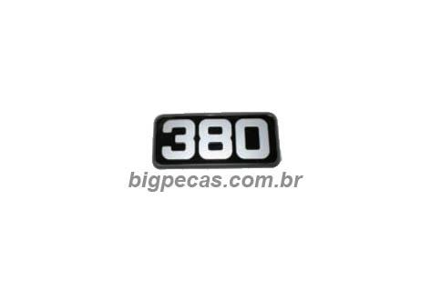 EMBLEMA LATERAL 380 VOLVO