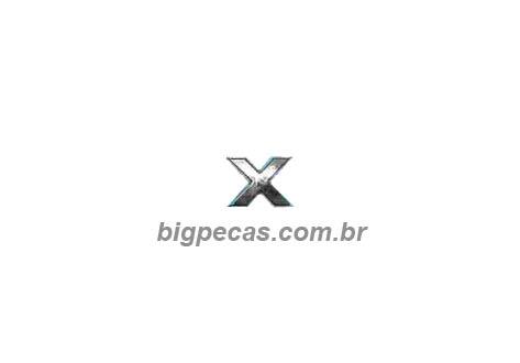 EMBLEMA X CROMADO VW CONSTELLATION