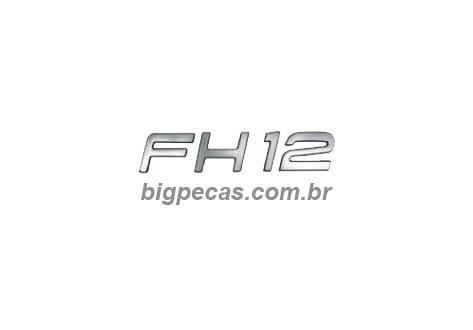 EMBLEMA FH12 VOLVO FH 12 (2010 EM DIANTE)