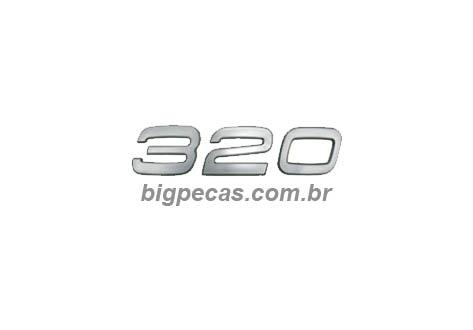 EMBLEMA 320 VOLVO FM (2010 EM DIANTE)