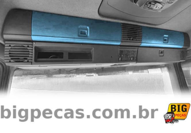 TAMPA SUPERIOR DO CONSOLE PORTA-LUVAS SCANIA S4/S5 - (imagem meramente ilustrativa)