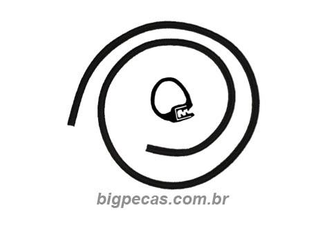 BORRACHA CAPÔ SCANIA 112/113