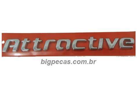 EMBLEMA ATTRACTIVE UNO/ PALIO (2012 EM DIANTE)