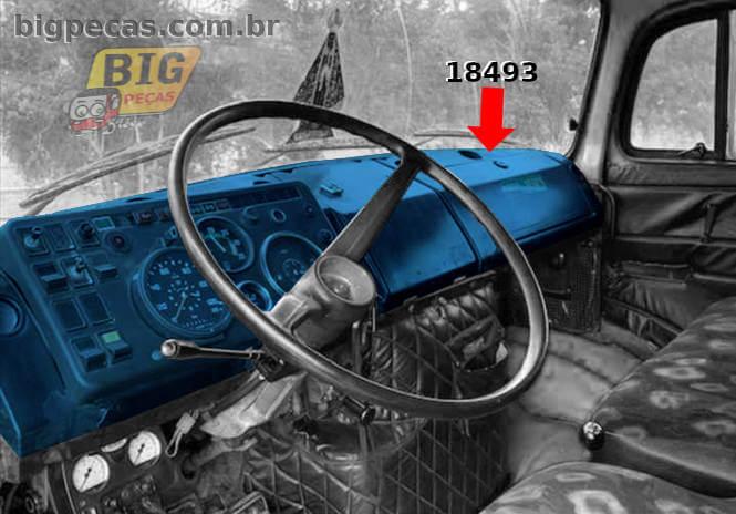 KIT PAINEL INTRUMENTOS MB 1313 CARA PRETA - (imagem meramente ilustrativa)