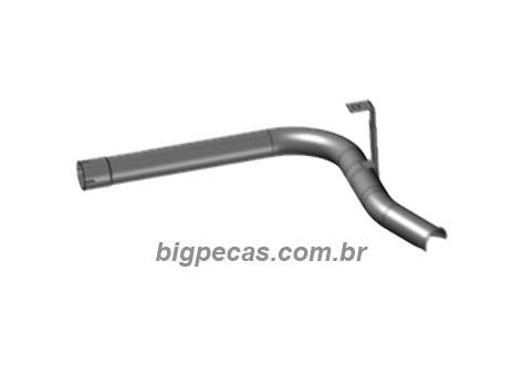 ESCAPE TUBO SAIDA CATALIZADOR 3.1/2