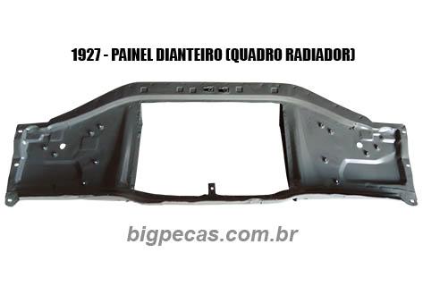 PAINEL DIANTEIRO DO QUADRO DO RADIADOR F1000/ F4000 (TODAS ATÉ 1992)