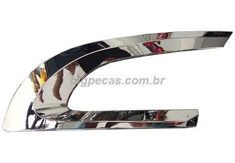 MOLDURA CROMADA DA GRADE SUPERIOR SCANIA S5 G/R (2008 ATÉ 2009)