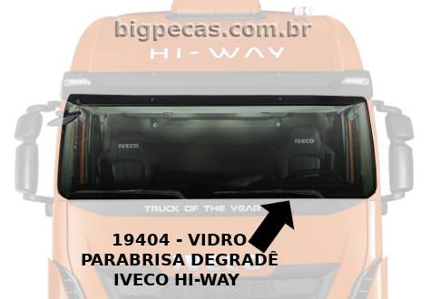 VIDRO PARABRISA IVECO HI-WAY
