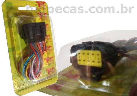 CHICOTE MACHO 1C10V10F DO FAROL SCANIA S5
