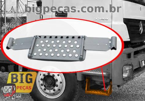 ESTRIBO INFERIOR DIR/ESQ MB AXOR 2831/3344 TRAÇADO