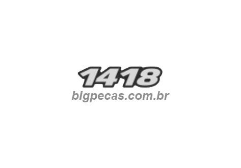 EMBLEMA RESINADO MB 1418