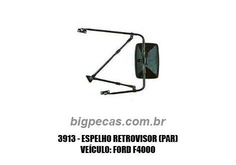 ESPELHO RETROVISOR F4000