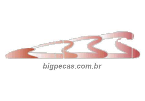 FAIXA 3 CORAÇÕES VERMELHA/PRATA MB (1992 ATÉ 1995)