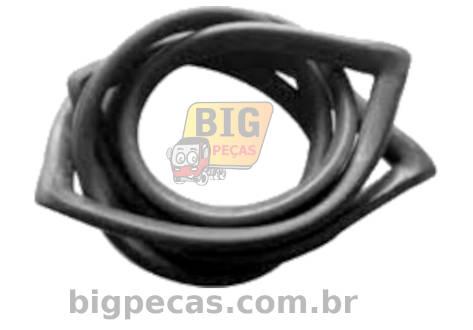 BORRACHA PARABRISA SEM FRISO CAMINHAO FORD F1000/ F4000 (TODAS ATÉ 1992)