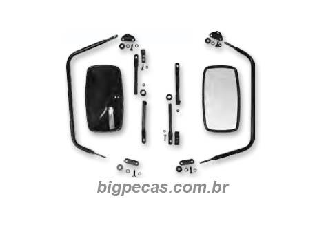 ESPELHO RETROVISOR C10/ D10/ KOMBI/ TOYOTA BANDEIRANTE