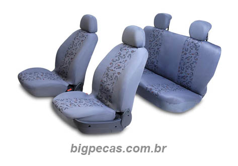 CAPA CINZA PARA BANCO BAIXO
