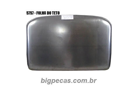 FOLHA DO TETO F1000/ F4000/ F600 (TODAS ATÉ 1992) - (imagem meramente ilustrativa)