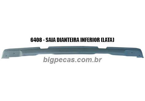 SAIA DIANTEIRA INFERIOR (LATA) F1000/ F4000 (TODAS ATÉ 1992)