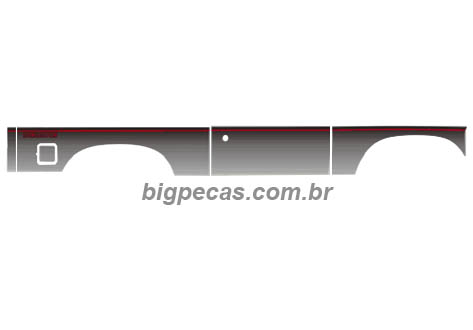 FAIXA PRATA D20/BONANZA