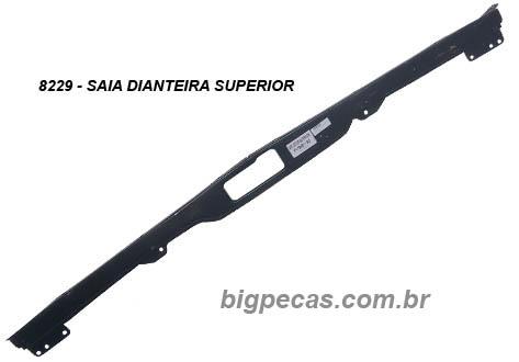 SAIA DIANTEIRA SUPERIOR EM LATA FORD F1000/F4000