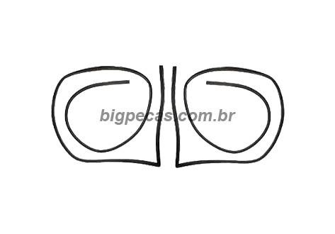 BORRACHA PORTA (PERFIL ESPONJOSO) MB 1111/1113