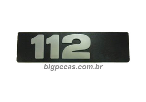 EMBLEMA SCANIA 112 LATERAL CAPÔ SCANIA T