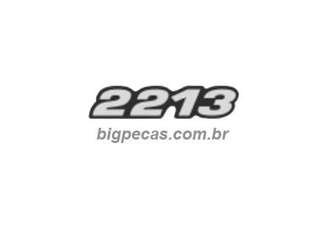 EMBLEMA RESINADO MB 2213