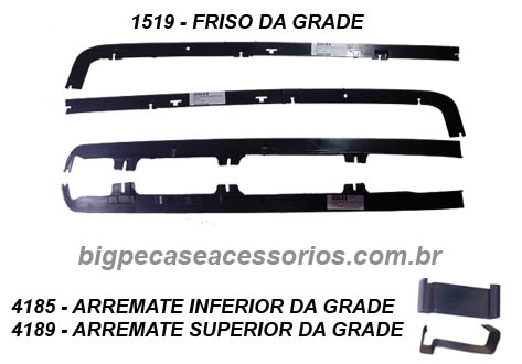 FRENTE GOL E SAVEIRO (1987 ATÉ 1990) - (imagem meramente ilustrativa)