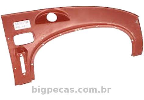 CHAPA DO PAINEL INSTRUMENTOS E/OU PORTA-LUVAS MB 1113/ 1313/ 1518/ AGL (TODOS ATÉ 1982)